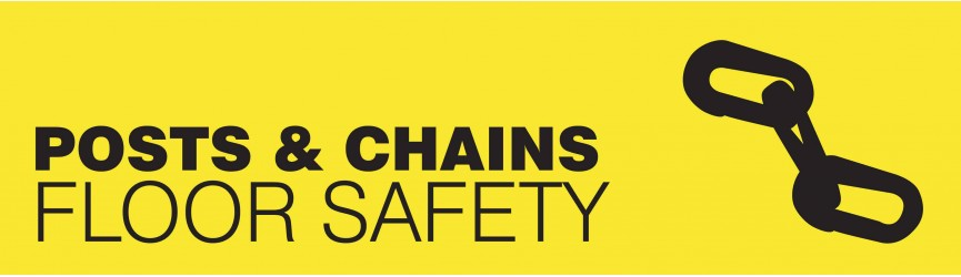 Floor Safety Posts and Chains