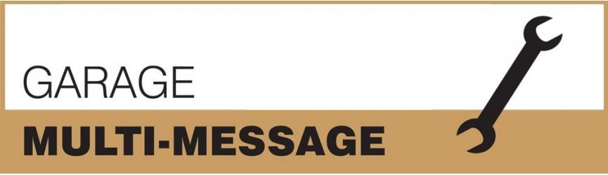 Garage Multi-Message Signs