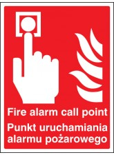 Fire Alarm Call Point (English / Polish)