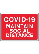 COVID-19 - Maintain Social Distance