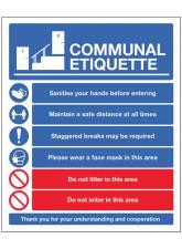Communal Area Etiquette