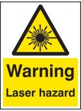 Warning Laser Hazard