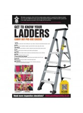 Ladder Inspection Checklist Poster (A2)
