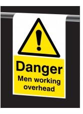Roll Top - Danger - Men Working Overhead