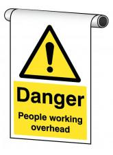 Roll Top - Danger People Working Overhead