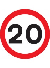20 mph - Class R2 Permanent