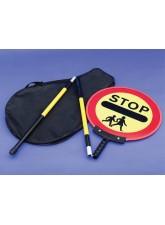 Stop Children Lollipop Sign 450mm Dia - 1500mm Pole