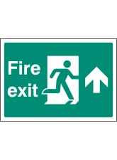 A4 Fire Exit Up