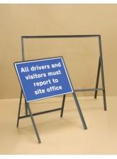 Sign Frame - 1050 x 750mm - 300mm Legs