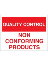 Quality Control Non-conforming Products